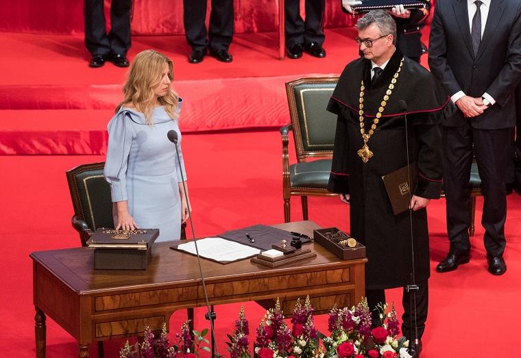 Словачка ја доби првата жена претседател