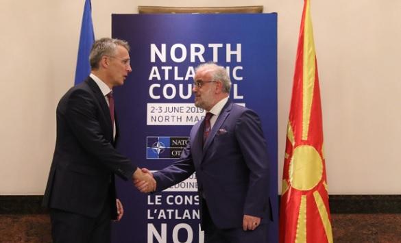 Столтенберг: Со нетрпение ја очекуваме Северна Македонија како 30-та членка
