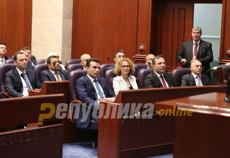 Шекеринска извиси, Оливер Спасовски технички премиер