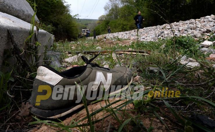 Воз кај Демир Капија удри во мигрант, мажот починал на место