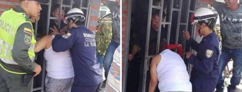 Ги шпиунирала соседите, па ја заглавила главата: Пет часа чекала помош