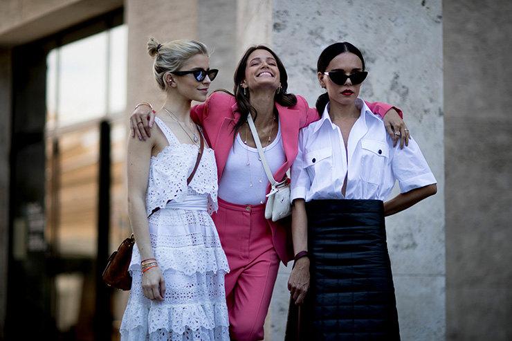 Париската улична мода инспирација за летни комбинации