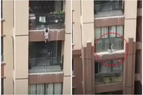 Тригодишно момче падна од 6-ти спрат на зграда во Кина