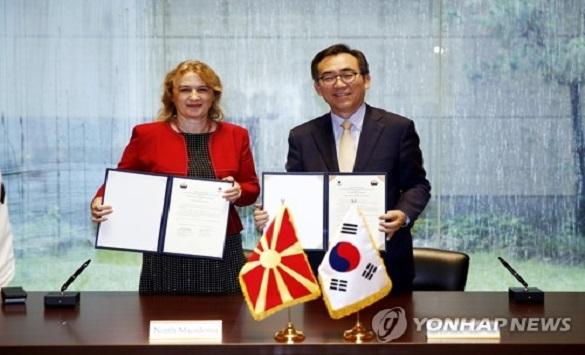 Македонија и Јужна Кореја воспоставија дипломатски односи