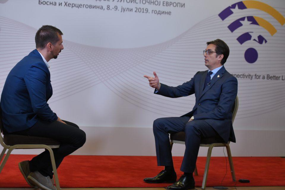 Стево Пендаровски во интервју за N1: По смената на власта во Грција очекувам поригиден став во однос на имплементацијата на договорот