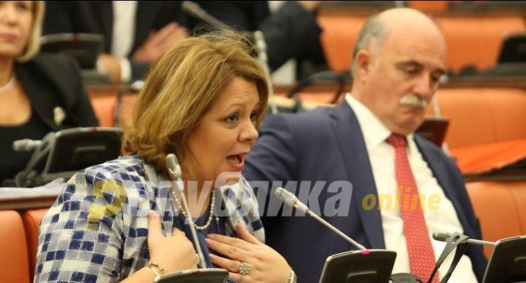 Власта застана во одбрана на криминалите на Катица Јанева