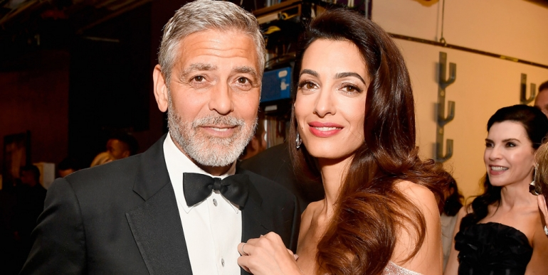 Раскошниот имот на Џорџ и Амал Клуни уништен од поплавите во Англија