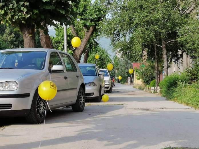 Битола се разбуди со жолти балони