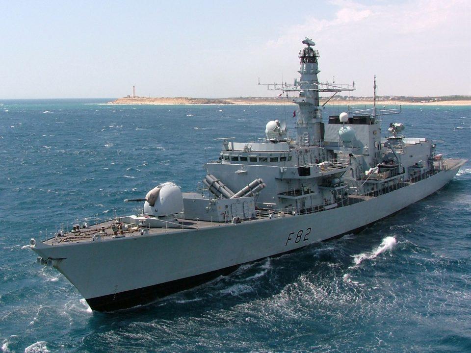 Највисоко ниво на предупредување за британските бродови во територијалните води на Иран