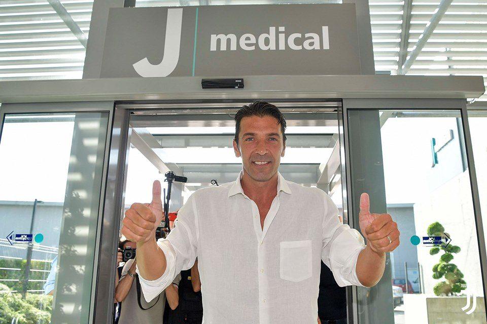 Се враќа во Јувентус: Буфон денеска на медицински прегледи