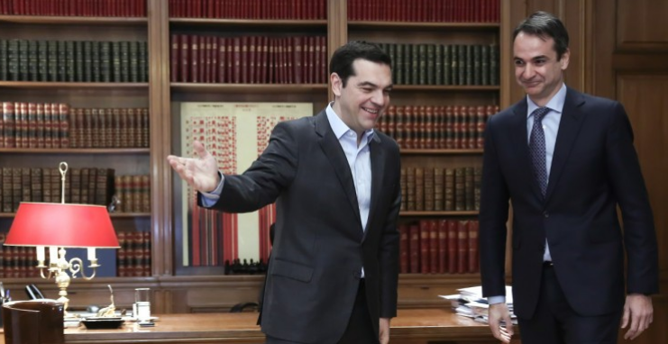 Ципрас до Мицотакис: Сега е добар Договорот од Преспа?