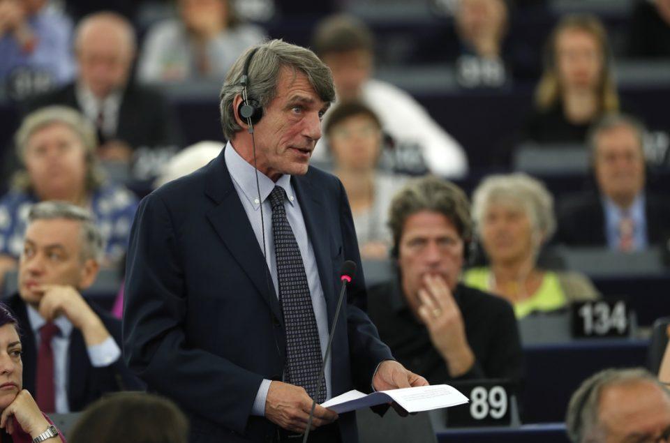 ЕП не избра претседател на првото гласање, води Италијанецот Сасоли