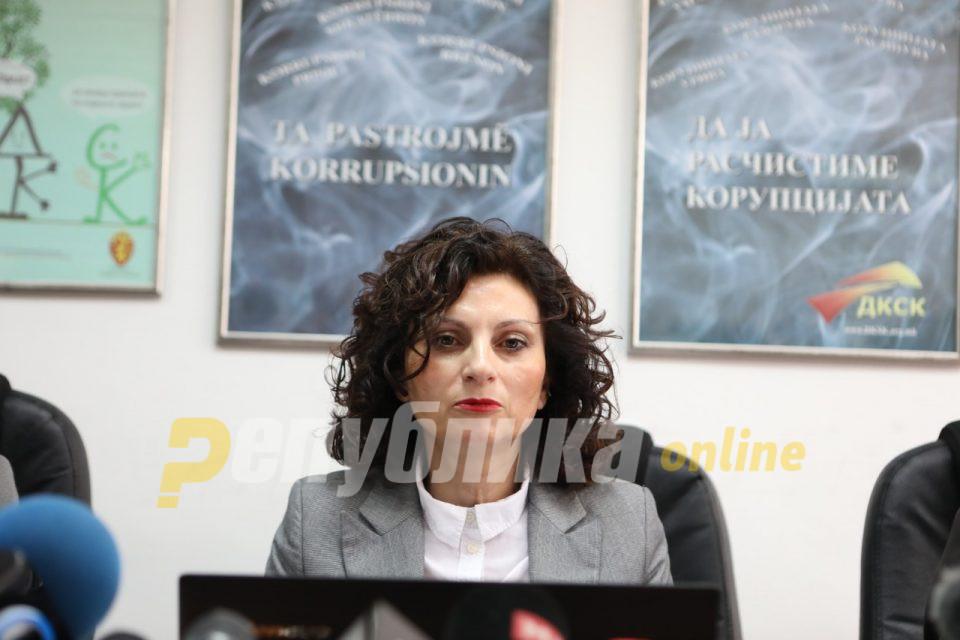 Ивановска: Ги охрабрувам граѓаните да пријават корупција