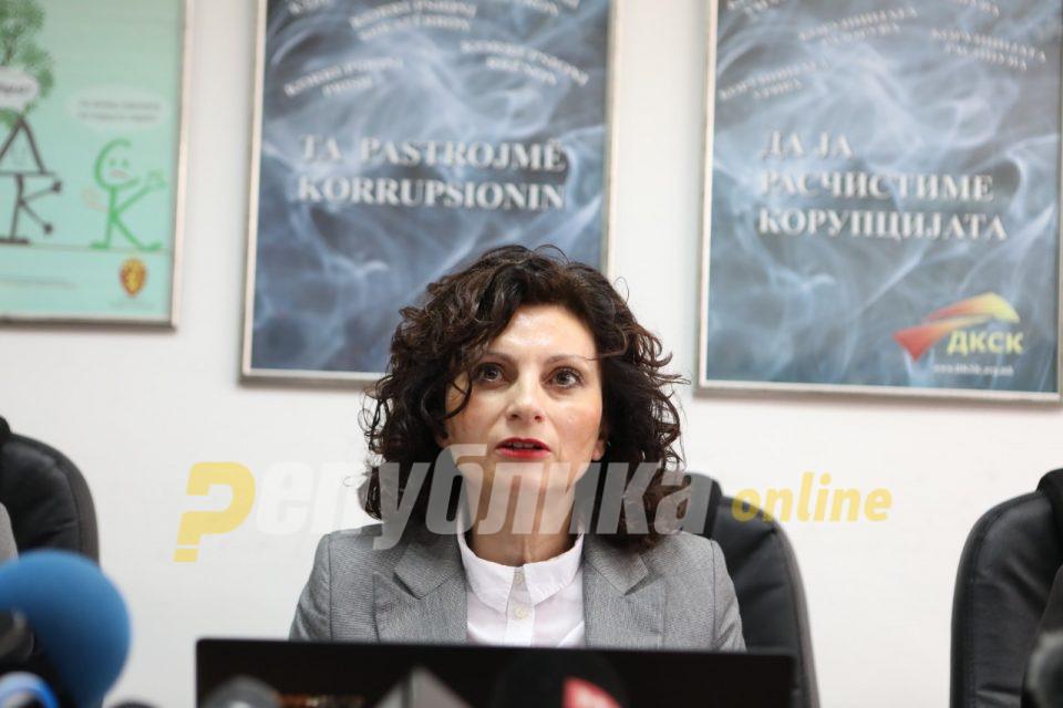 Состојбата со корупцијата е сериозна: Ивановска информираше за работата во изминатата година