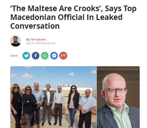"""""""Ловин Малта"""": Македонскиот државен врв вели """"Малтешаните се криминалци"""""""