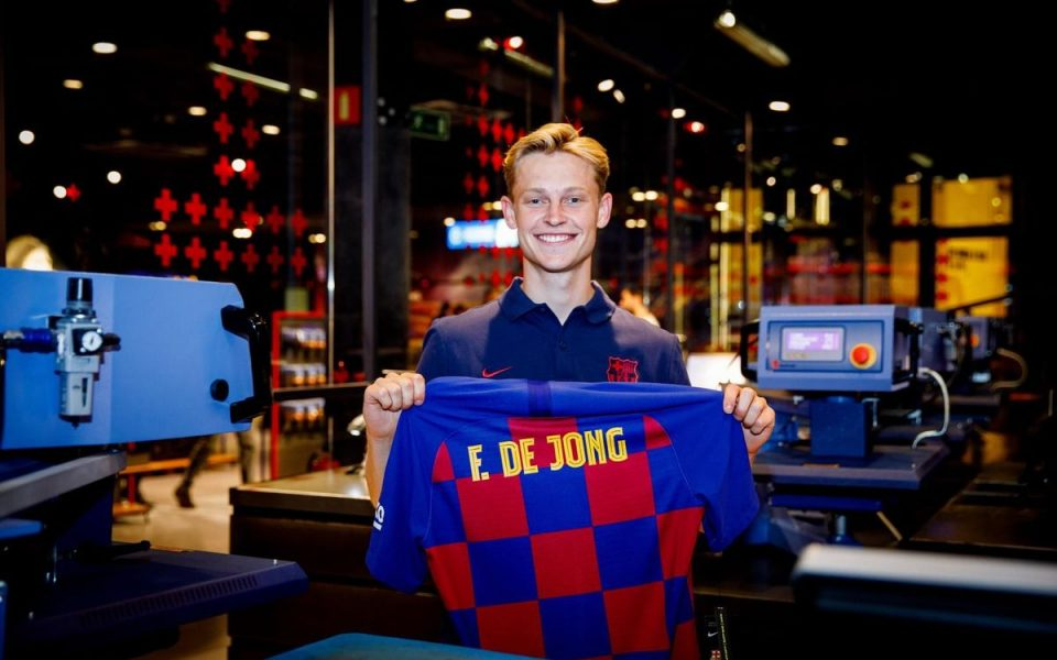 Френки де Јонг: Среќен сум, мојот идол ми стана соиграч