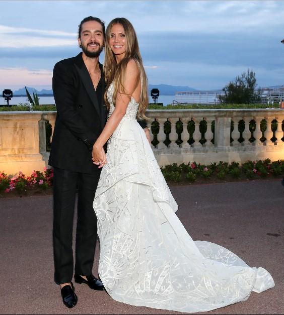 Криеше со месеци: Хајди Клум се омажи по третпат
