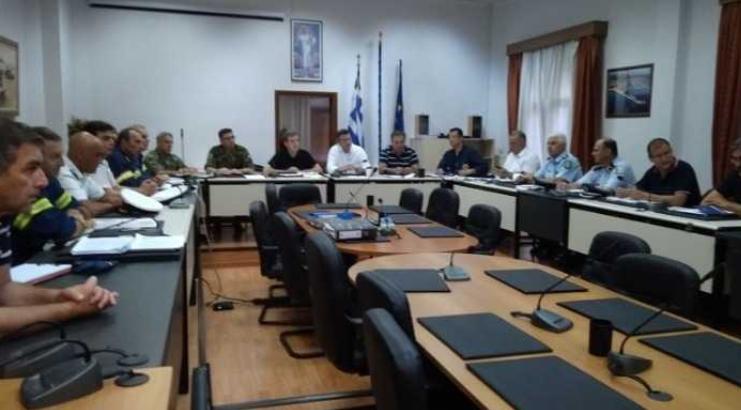 Хрисохоидис: Наша должност е брзо да се врати во нормала животот на Халкидики