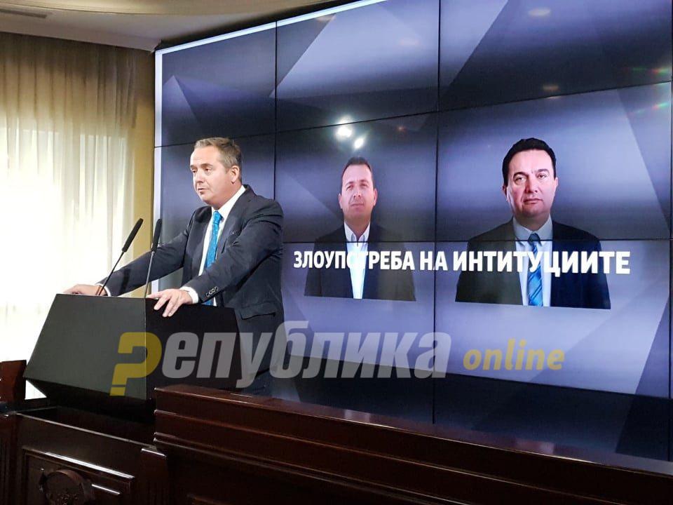 """""""Бомба"""" од ВМРО-ДПМНЕ: Сите вработени и унапредени од СДСМ терани да си ја одработат """"услугата"""" за Пендаровски"""