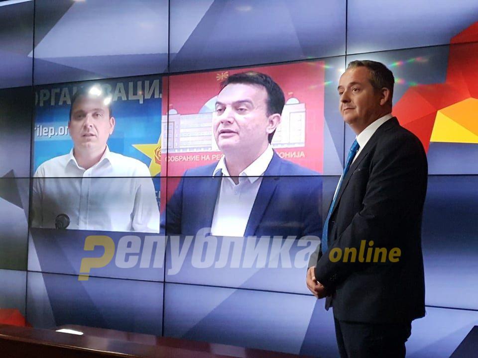 Талевски ја потврди автентичноста на бомбата на ВМРО-ДПМНЕ