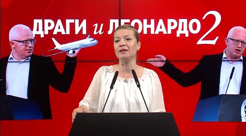 Василевска: Хибридниот режим на СДСМ продолжува да ги прекршува основните слободи и човекови права на граѓаните
