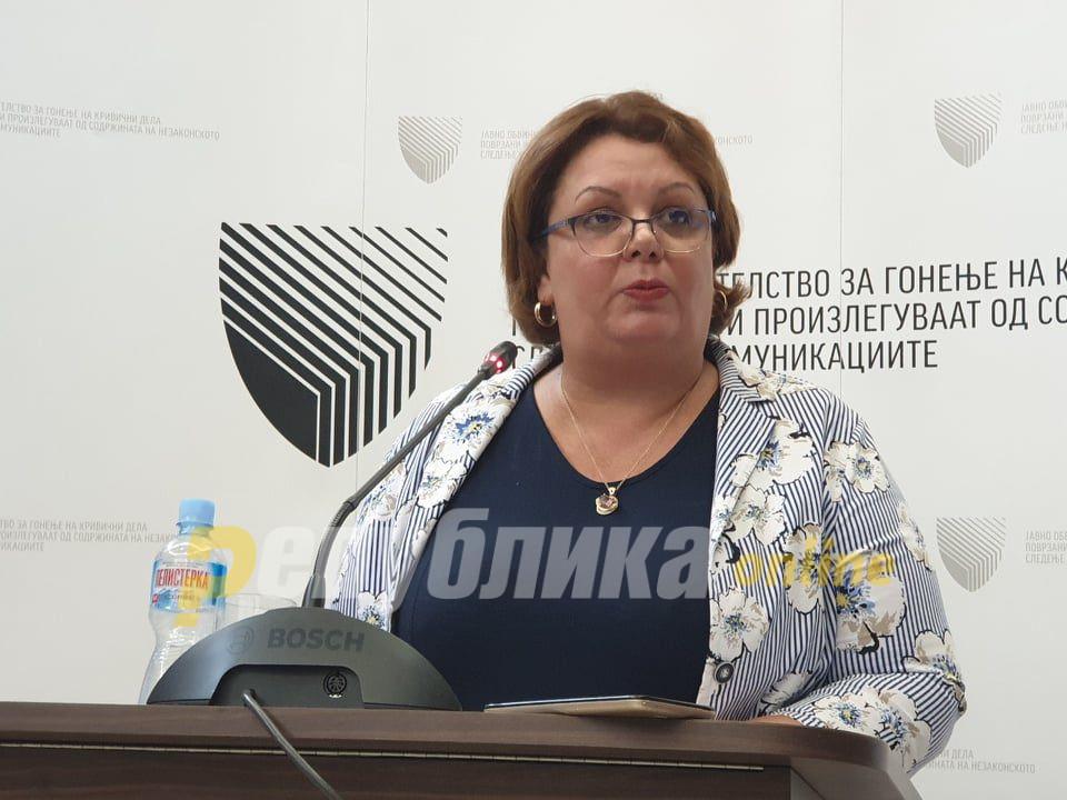 """Урнисаното СЈО не застана зад """"чистата"""" Јанева, а таа и покрај """"чистотата"""" избега од јавноста"""