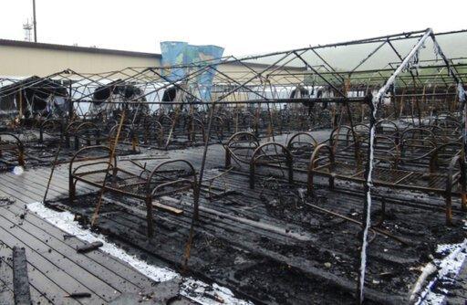 Најмалку пет деца загинаа во пожар во детски камп во Русија