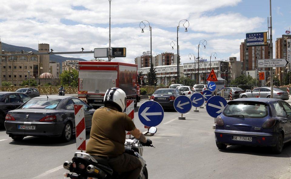 """Избегнете ја гужвата: Промена на сообраќајниот режим на мостот """"Гоце Делчев"""""""