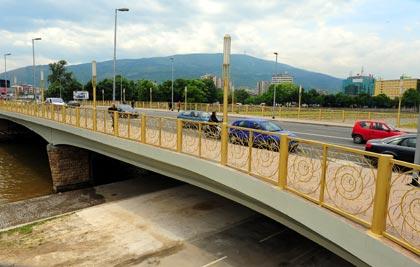 Викендов привремен сообраќаен режим на мостот Гоце Делчев