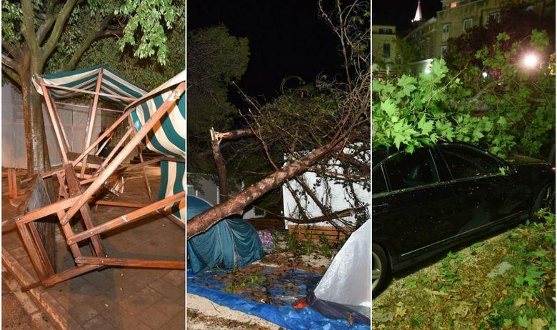 Две жени погодени од гром, маж паднал од покрив – силно невреме во Хрватска