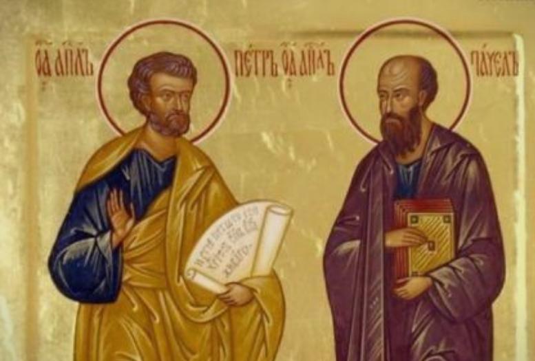 Св. Петар му го ископал гробот на св. Павле, легнал во него и повеќе не станал