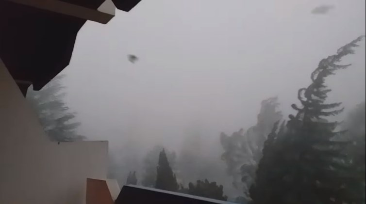 Десетина села се отсечени и без струја по олујата во Преспа