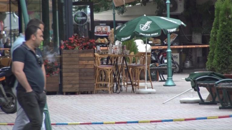 """Единицата за антитероризам ја отстрани бомбата од кафулето """"Кафе ин"""""""