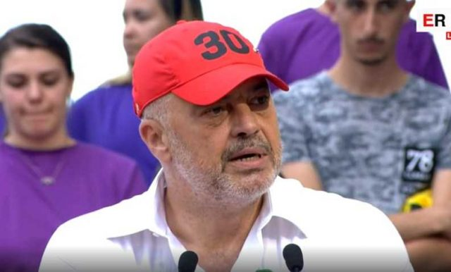Еди Рама победи во 60 од 61 една општина на изборите на кои учествуваше сам
