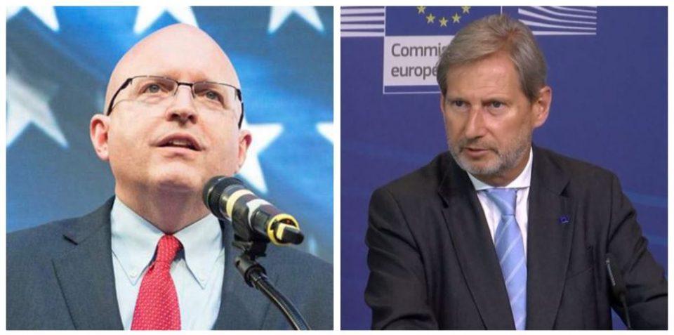 Хан и Рикер доаѓаат во Скопје на средби со државниот врв и со опозицијата