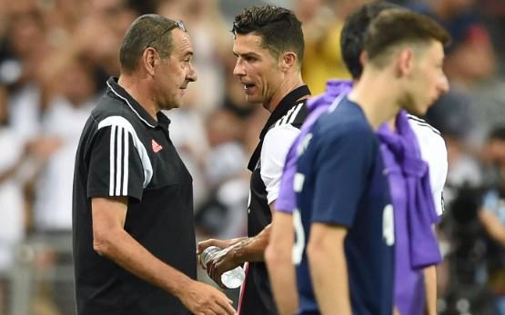 Тензии помеѓу Роналдо и Сари уште на првиот меч