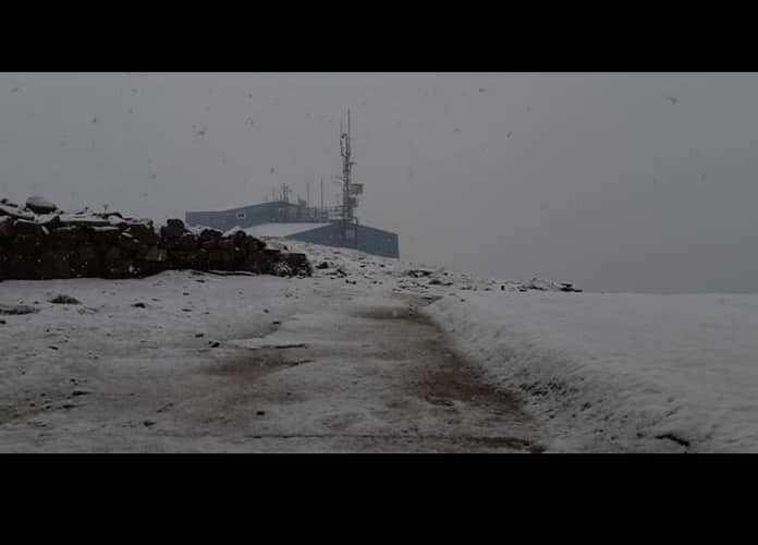 Снег на Балканот сред лето
