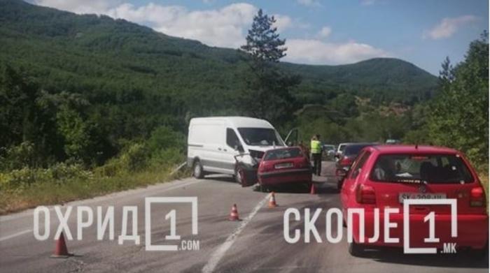 Детали за сообраќајката во охридско: Возач загина на лице место