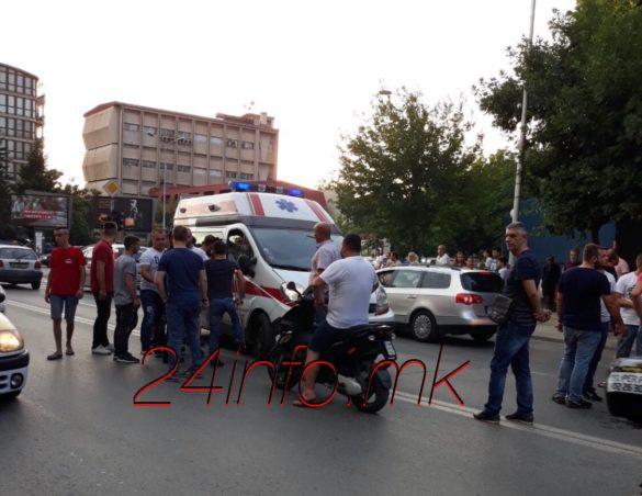 Настрада моторџија во Чаир