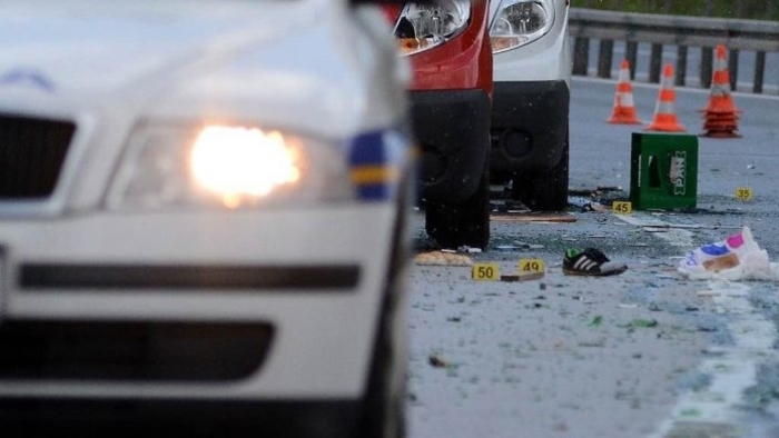 Изминатите 24 часа 13 сообраќајки во Скопје, еден велосипедист загинат