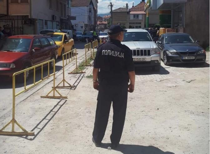 Два инцидента во Тетово во кои полицајци добивале закани