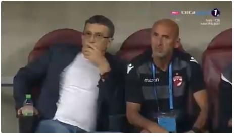 Шок на теренот во Букурешт: Тренерот на домаќините доживеа срцев удар на време на натпревар