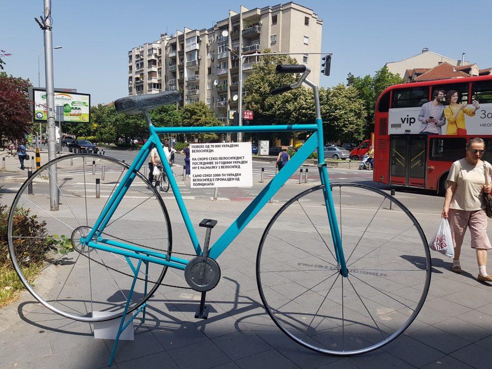 И симболот на украдените велосипеди жртва на крадците