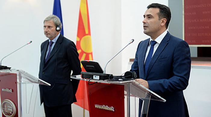 """Заев пријавил во МВР закана за """"куршум во глава"""" по пресот со Хан"""