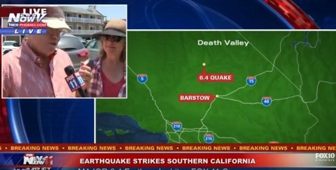 Земјотрес со јачина од 6,6 степени ја стресе Калифорнија