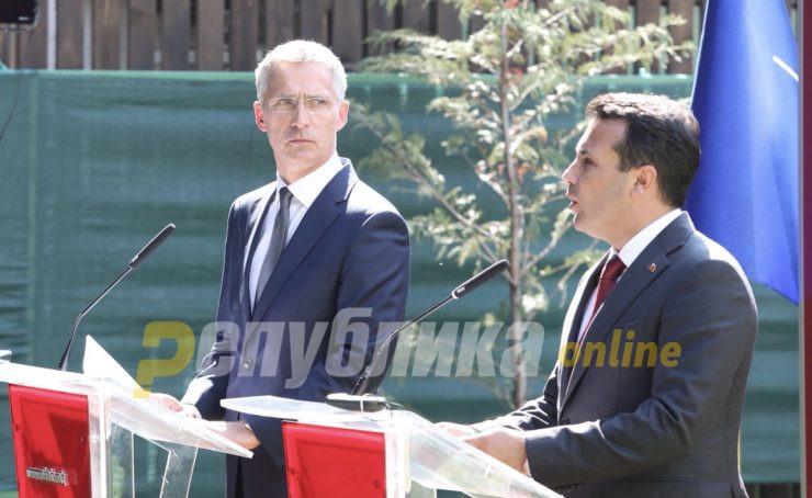 Столтенберг: Mакедонија мора да има 5Г мрежа за влез во НАТО