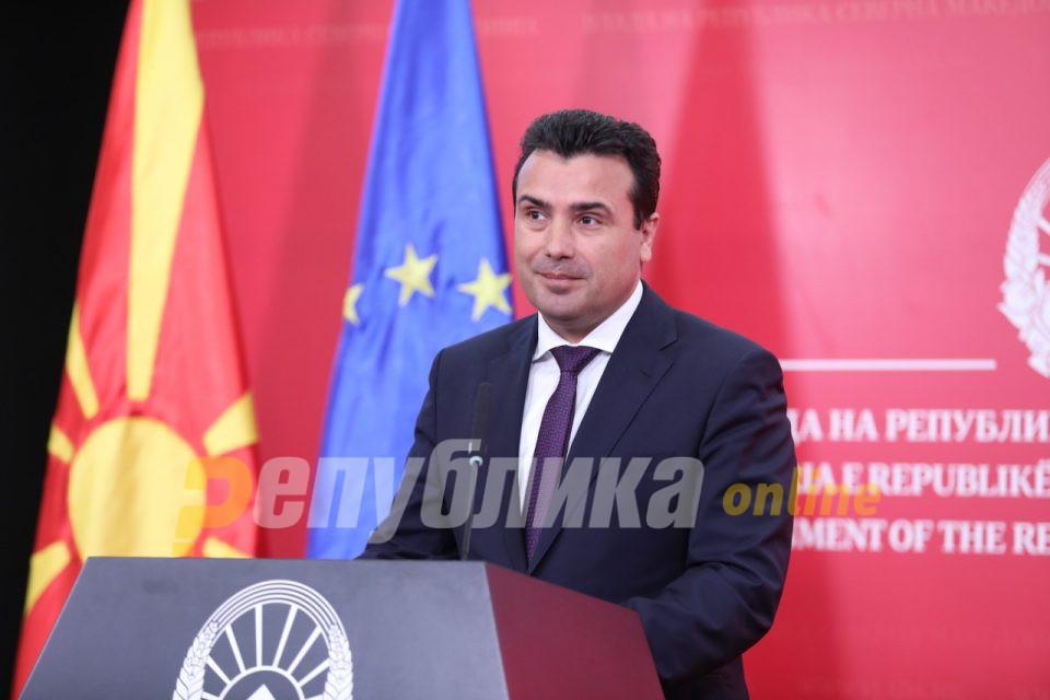 СДСМ: Заев жестоко ги брани врвните национални интереси и ја носи Македонија во НАТО и ЕУ