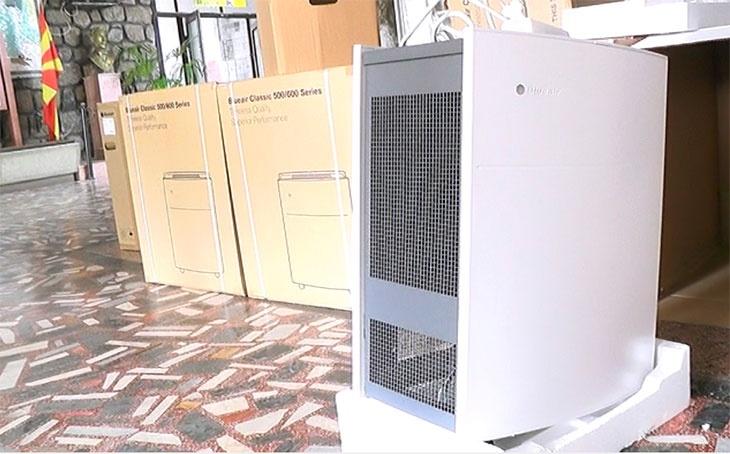 Владата ќе набавува пречистувачи за воздух во градинките, училиштата и здравствените објекти