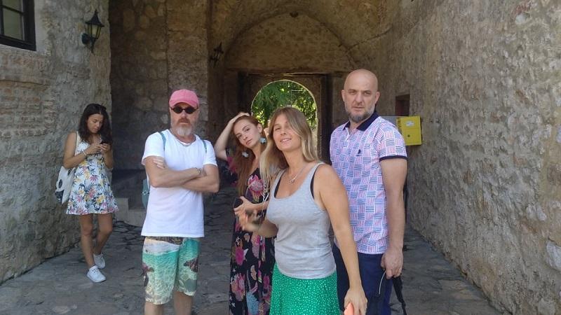 """Турските актери уживаа во манастирскиот комплекс """"Свети Наум"""""""