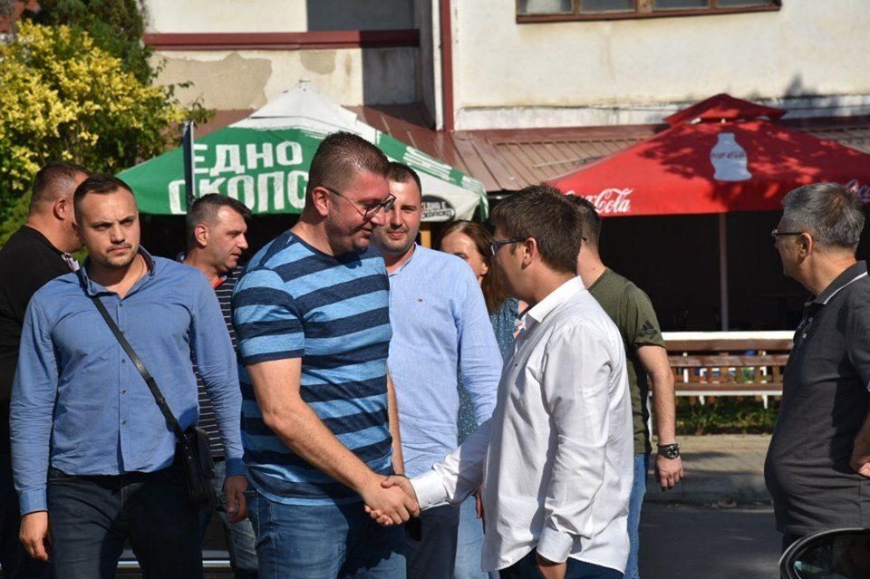 Мицкоски порача од Македонска Каменица: Заеднички да ја донесеме обновата што и е потребна на Македонска Каменица и на Македонија